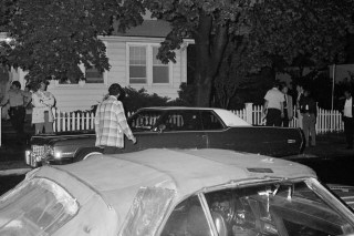 Parked car in Queens where couple were shot on June 26, 1977