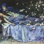 Early Sleeping Beauty painting by Henry Meynell Rheam