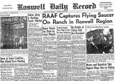 Roswell Daily Record, July 8, 1947