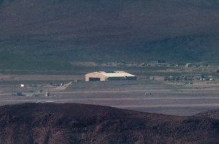 New hanger that appeared at Area 51 in 2014