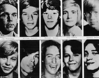 Some of John Wayne Gacy's victims
