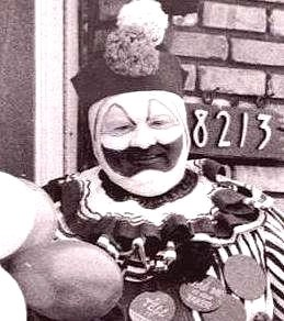 John Wayne Gacy as Pogo the Clown