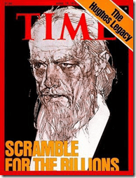 Howard Hughes cover of Time magazine