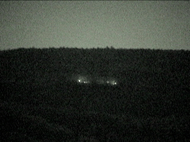 Ghost lights at Browns Mountain