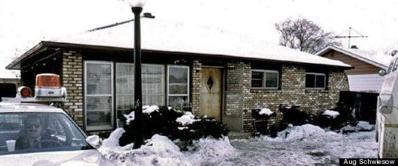 The house where John Wayne Gacy buried his victims