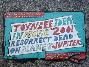 Cleveland Toynbee Tile on West 3rd and Prospect.