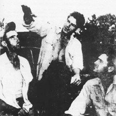 Three of the witnesses to the incident. In the middle is Elmer