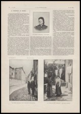 News article showing Blanche's mother and the location of the crime