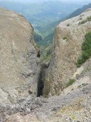The head of Ape Canyon
