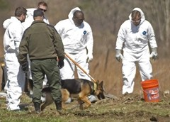 Police gather forensics from kill kit left behind by serial killer Israel Keyes