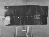Paper wrapping that Oswald used to conceal gun
