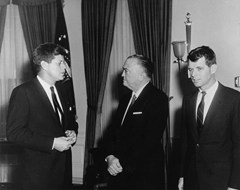 J. Edgar Hoover and the Kennedy brothers