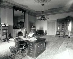 The Lincoln Bedroom inside the White House