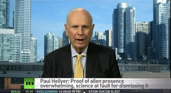 Ex-Canadian Minister of Defense admitting aliens exist on Russia Today