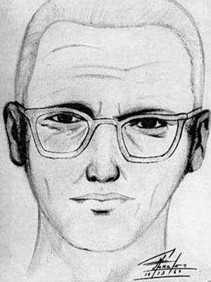Police sketch of the Zodiac Killer (1969)