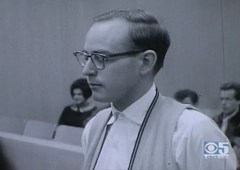 "Clip of Earl Van Best on August 31, 1962 during his sentencing in San Francisco (for trying to run off with ""13-year-old Judy Chandler"")"