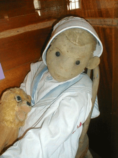 Robert the Doll - the most famous haunted doll in the world