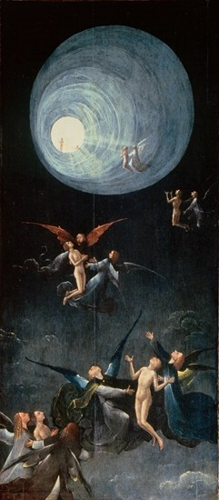Ascent of the Blessed by Hieronymus Bosch (circa 1450-1516)