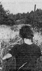 Hunters searching for the creature in 1978