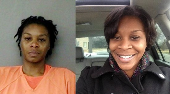 Is Sandra Bland dead in her booking photo?