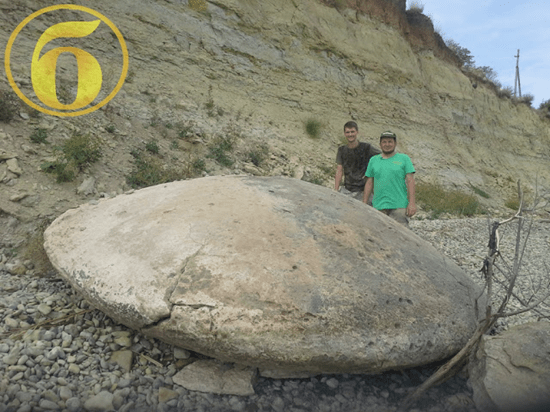 """More Russian """"stone"""" UFOs discovered – researchers say the million-year-old disc-shaped relics hint at alien past"""