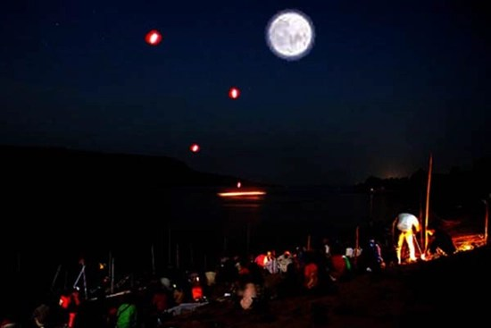 The Naga Fireballs of the Mekong river–mysterious glowing orbs rise from the water and are witnessed by thousands each year