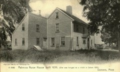 Rebecca Nurse house - built in 1636