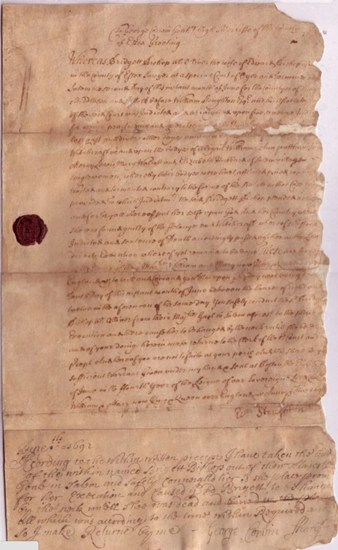 Death Warrant v. Bridget Bishop