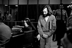 Charles Manson escorted into the courtroom