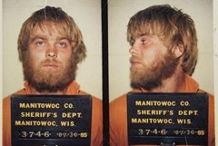 Steven Avery arrest photos in the Penny Ann Beernsten murder