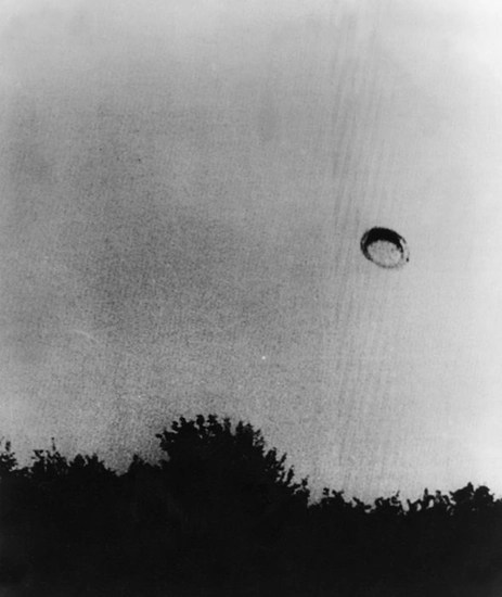 UFO over Germany. 1974