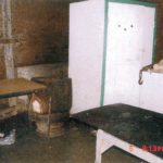 Robert Pickton's slaughterhouse on the Pickton pig farm
