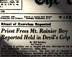 Washington Post article that tweaked William Peter Blatty's interest in The Exorcist case