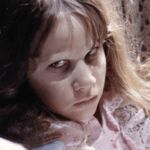 Linda Blair in the movie The Exorcist