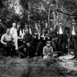 Security and other participants in the Ludgate Affair on Deadman's Island