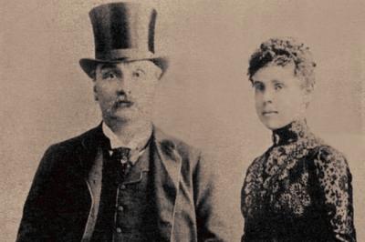 James Maybrick and his wife Florence Maybrick