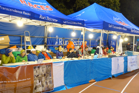 Workers at the Sri Chinmoy Self-Transcendence race