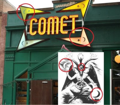 Comet Pizza joint at head of PizzaGate