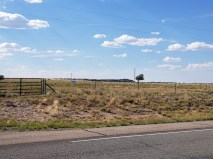 Jeffrey Epstein New Mexico Ranch - West view (home on plateau)