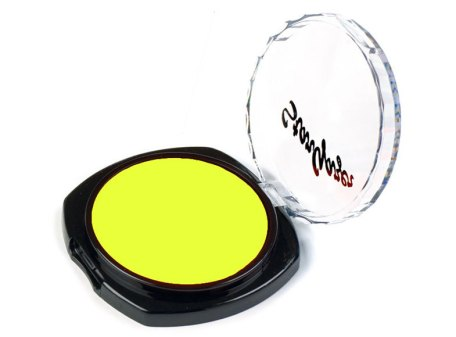 Flourescent Eye Shadow - Lemon Yellow