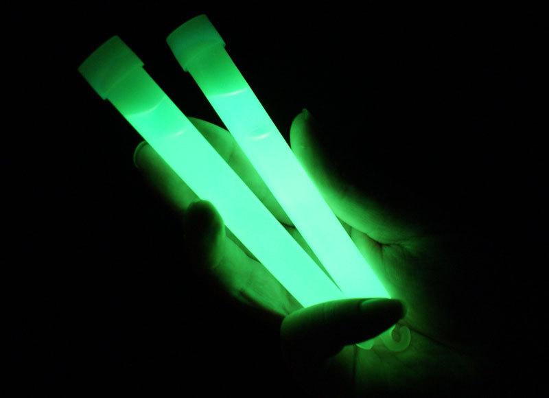 """6"""" Glow Sticks with Lanyard - Green"""