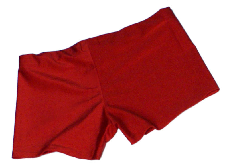Neon Red UV Hotpants