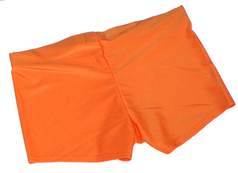 Neon Orange UV Hotpants