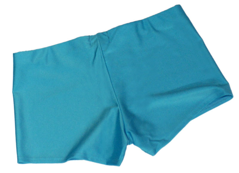 Neon Blue UV Hotpants