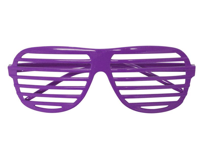 Purple Shutter Shades