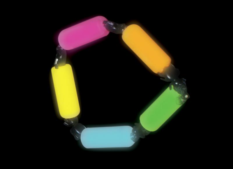 Glow Charm Bracelet - Multi Colour