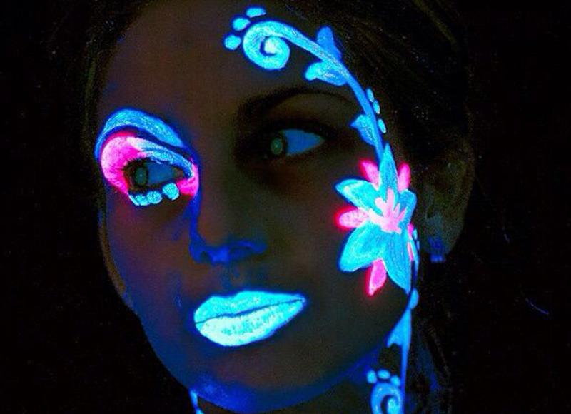 Neon Face & Body Paint