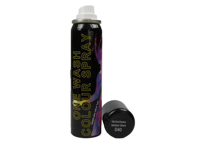 Colour Spray for Hair & Wigs - Black