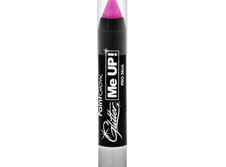 UV Glitter Stick Candy Pink