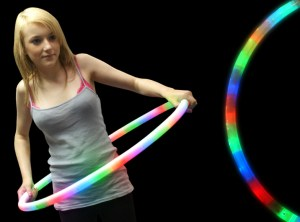 LED Flashing Hula Hoop 27""